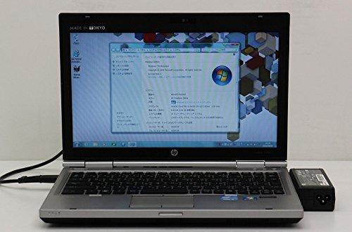 【中古】 hp EliteBook 2560p Core i5 2.3GHz/4GB/500GB/12.5W/Win7
