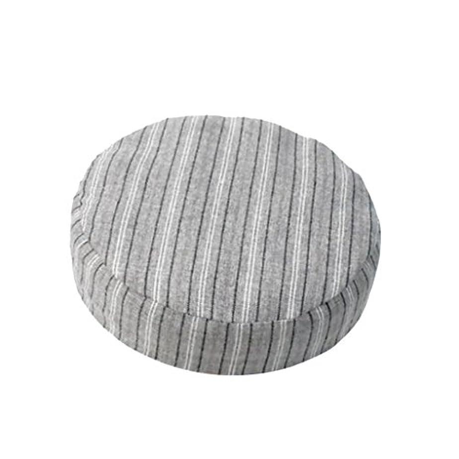 アレルギーまつげ影響力のあるSharplace 全8色 1個入り 直径約40cm ラウンド リネン製 スツールカバー 座布団カバー 丸椅子カバー - カラー4