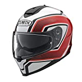 ヤマハ(YAMAHA) バイクヘルメット フルフェイス YF-9 ZENITH サンバイザーモデル スポーツストライプ レッド Mサイズ(57-58cm) 90791-1787M