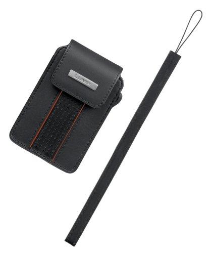 Panasonic デジタルカメラケース LUMIX 本革ケース ブラック DMW-CX500-K