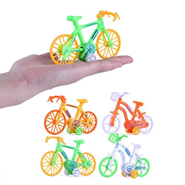 Sannysis スクイッシーおもちゃ ミニ自転車おもちゃ プルバック 自転車 早期モデル 子供 教育玩具