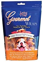 Loving Pet Natural Gourmet Wraps Sweet Potato Wrapped In Chicken Meat Snack 8oz