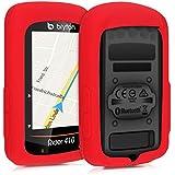 kwmobile Bryton Rider 410 / 450 用 ケース - シリコン GPS カバー - 自転車 ナビ 保護ケース
