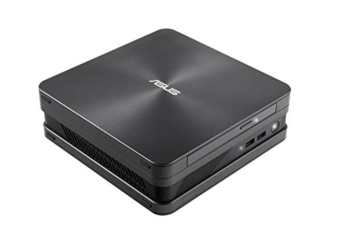 ランデブーストレスの多いかすれたASUS VivoMini VC65 ( Pentium G4400T /  Windows10 / 4GB / 1TB / DVDスーパーマルチ / アイアングレー ) VC65-G107Z