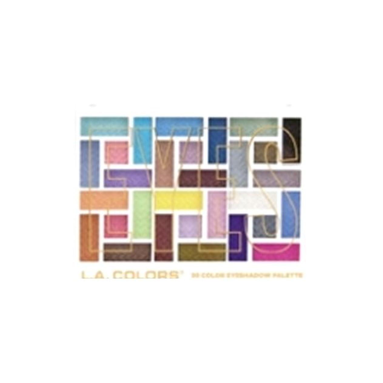 に頼る帳面ドアミラーL.A. COLORS 30 Color Eyeshadow Palette - In The Moment (並行輸入品)
