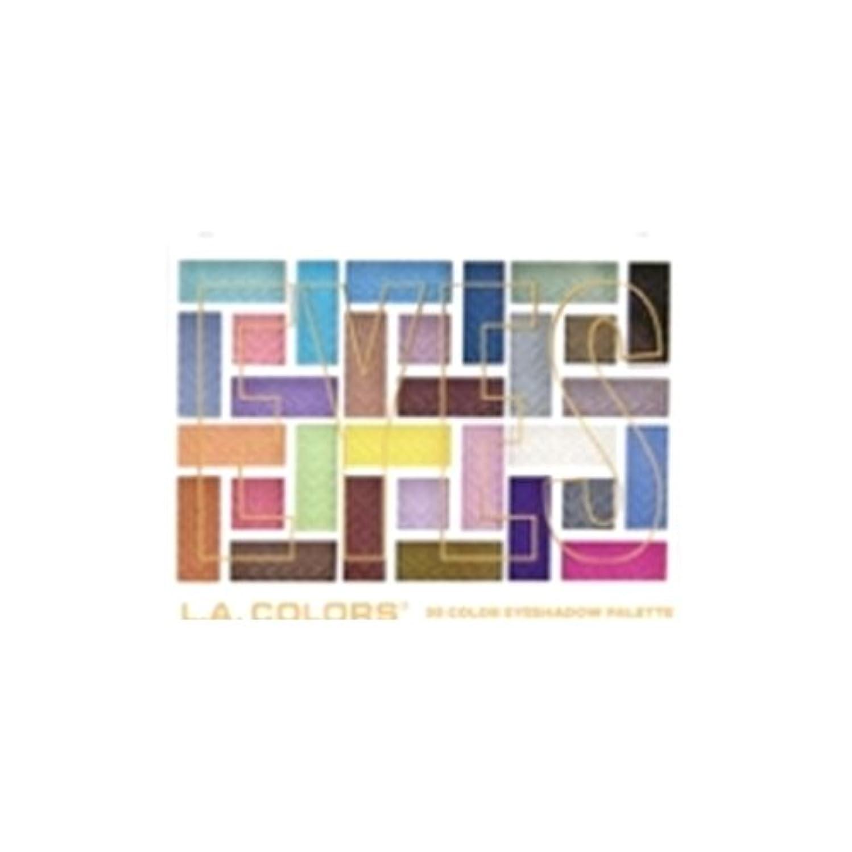 はちみつ動揺させるラウンジL.A. COLORS 30 Color Eyeshadow Palette - In The Moment (並行輸入品)