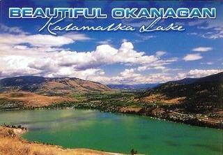 ポストカード オカナガン カラマルカ湖
