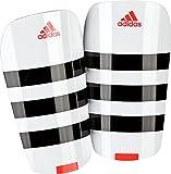 adidas(アディダス) サッカー シンガード エバー レスト BPH04 ホワイト×ブラック×ソーラーレッド(AP7036) S