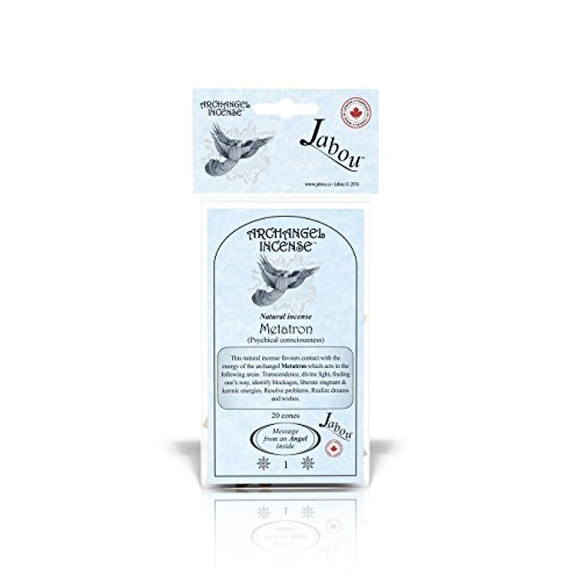 の間で文房具活気づけるJabou 大天使 100%天然お香 コーン - 12個の香り - 瞑想 ヨガ リラクゼーション マジック ヒーリング 祈り 儀式 - 20個のコーン - 各30分以上持続