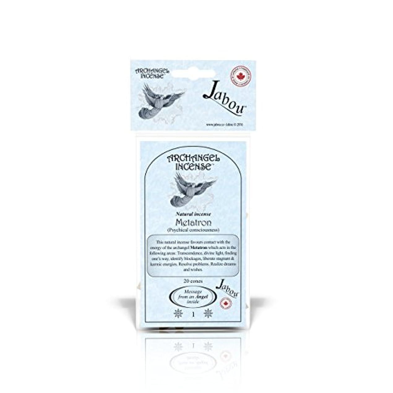 行為肉腫判読できないJabou 大天使 100%天然お香 コーン - 12個の香り - 瞑想 ヨガ リラクゼーション マジック ヒーリング 祈り 儀式 - 20個のコーン - 各30分以上持続