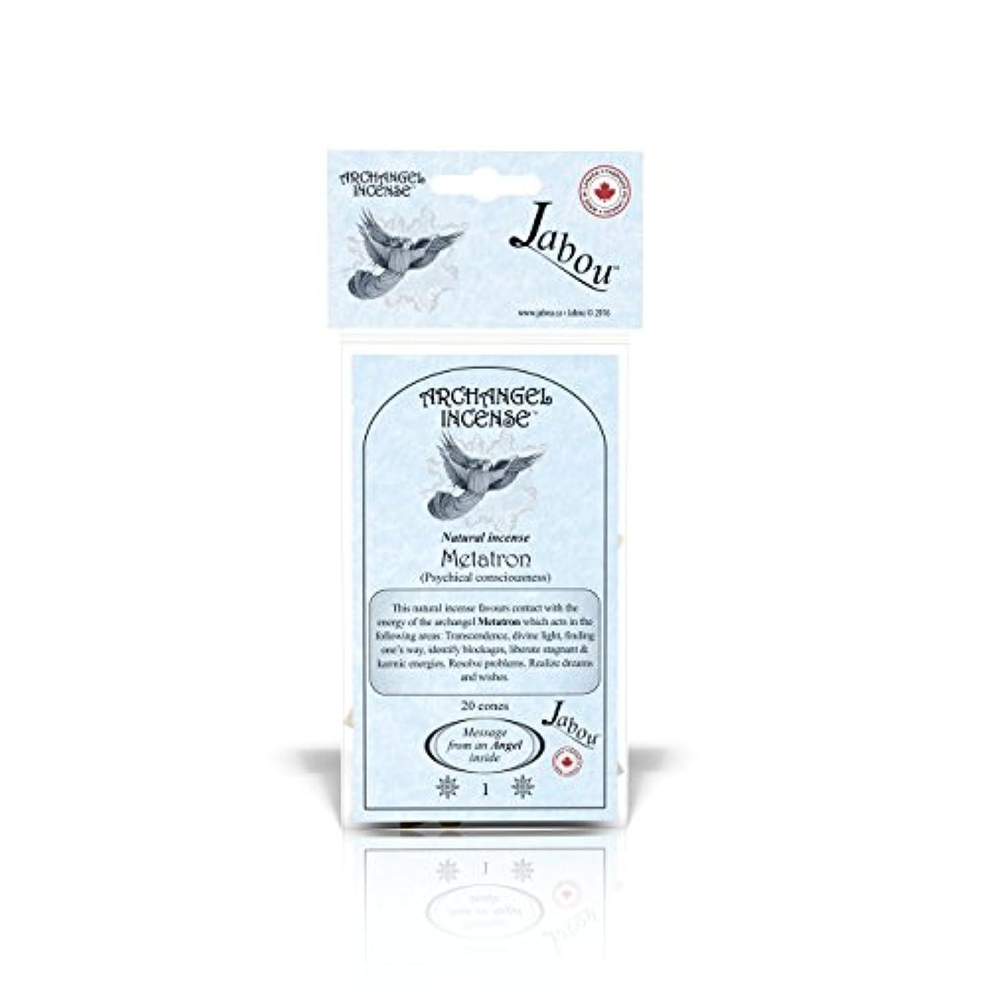 毎日コンパス劇的Jabou 大天使 100%天然お香 コーン - 12個の香り - 瞑想 ヨガ リラクゼーション マジック ヒーリング 祈り 儀式 - 20個のコーン - 各30分以上持続