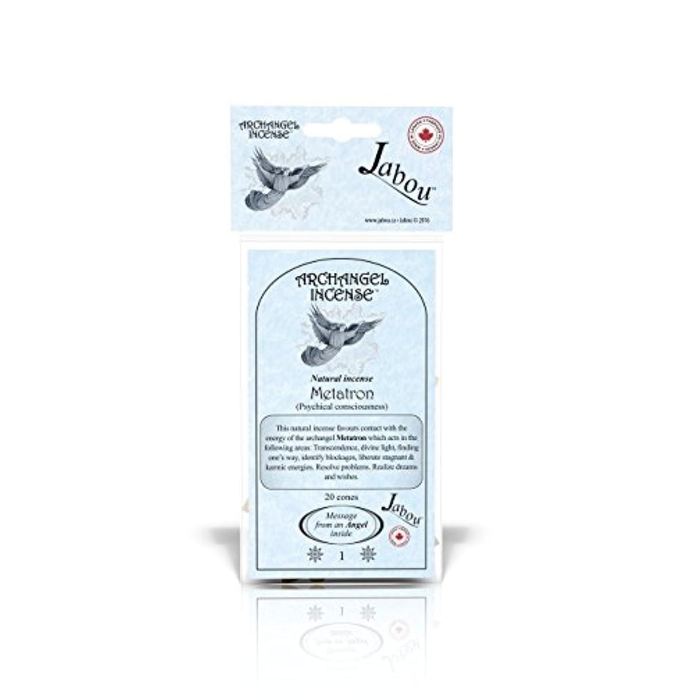 混沌気配りのあるやろうJabou 大天使 100%天然お香 コーン - 12個の香り - 瞑想 ヨガ リラクゼーション マジック ヒーリング 祈り 儀式 - 20個のコーン - 各30分以上持続