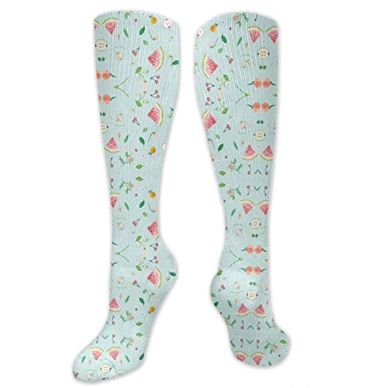 偽時間閲覧する靴下,ストッキング,野生のジョーカー,実際,秋の本質,冬必須,サマーウェア&RBXAA Fruit Salad Socks Women's Winter Cotton Long Tube Socks Cotton Solid...