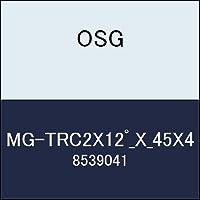 OSG 超硬エンドミル MG-TRC2X12゚_X_45X4 商品番号 8539041
