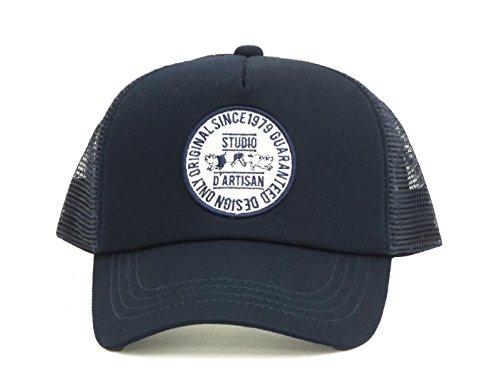 (ステュディオ・ダ・ルチザン) STUDIO D'ARTISAN メッシュキャップ 7433 メンズ 帽子 ネイビー (メンズフリーサイズ)