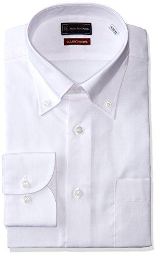 (ピーエスエフエー)P.S.FA クラシコモデル 形態安定 長袖 ボタンダウンワイシャツ M151180070 01 ホワイト