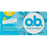 O.B. Tampon ProComfort Regular, 32ct