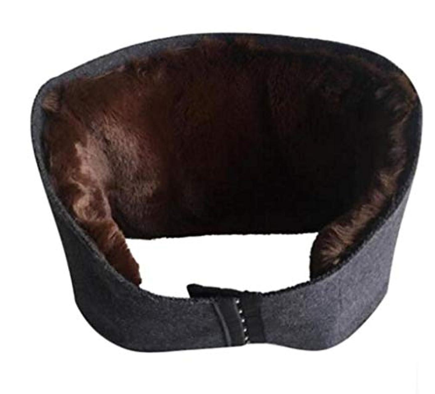 コンチネンタル降伏乱れ腰暖かいベルト、ウール医療ウエストサポートベルト運動/作業/フィットネス保護ギア、男性と女性のための適切な鎮痛暖かい腰のサポート、