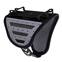 Baoblaze ランニング/ジョギング/ジム用 スポーツアームバンド 電話ホルダーポーチ バッグ 全9色 - ブラック