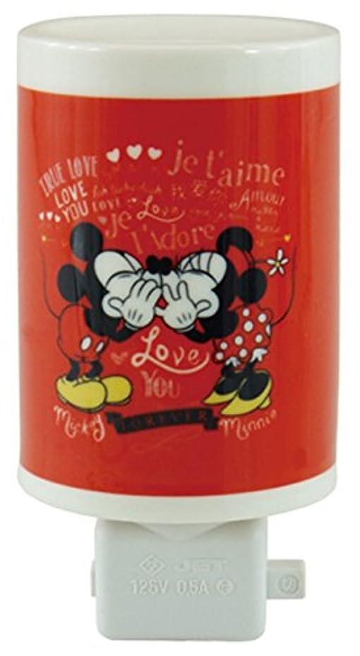 圧縮君主制計画的ディズニー セラミックアロマコンセントランプ ミッキー&ミニー