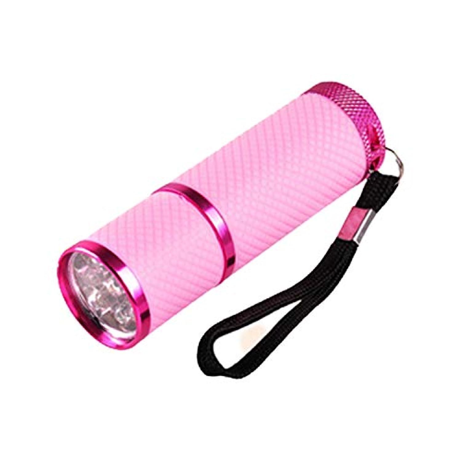 小石乳クリックネイル?レジンクラフト LED UVライト ピンク BY-NL550 ネコポス発送 送料無料