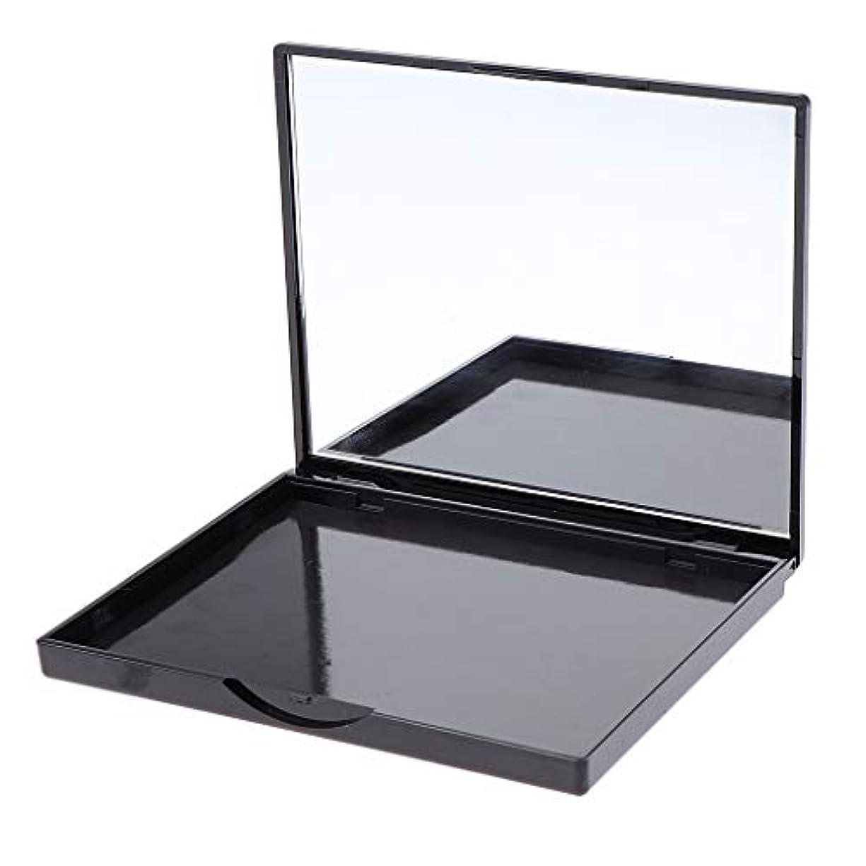 F Fityle 磁気パレット メイクアップ 化粧パレット アイシャドウ コスメ DIY 4タイプ選べ - パープルローズフラワー