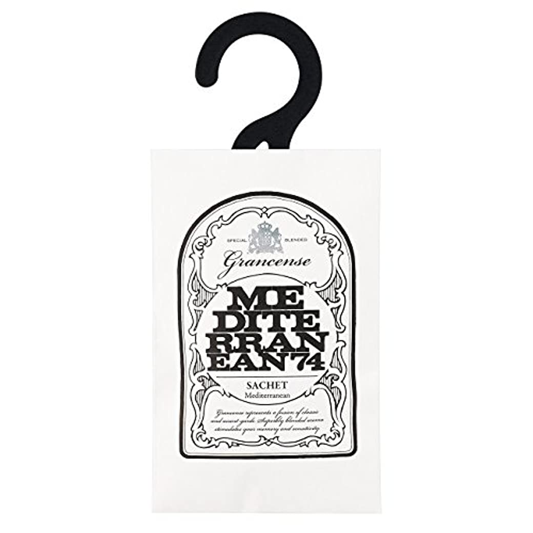 胴体悲しいテラスグランセンス サシェ(約2~4週間) メディテレーニアン 12g(芳香剤 香り袋 アロマサシェ 潮風を感じさせてくれるアクアティック・フローラルの香り)