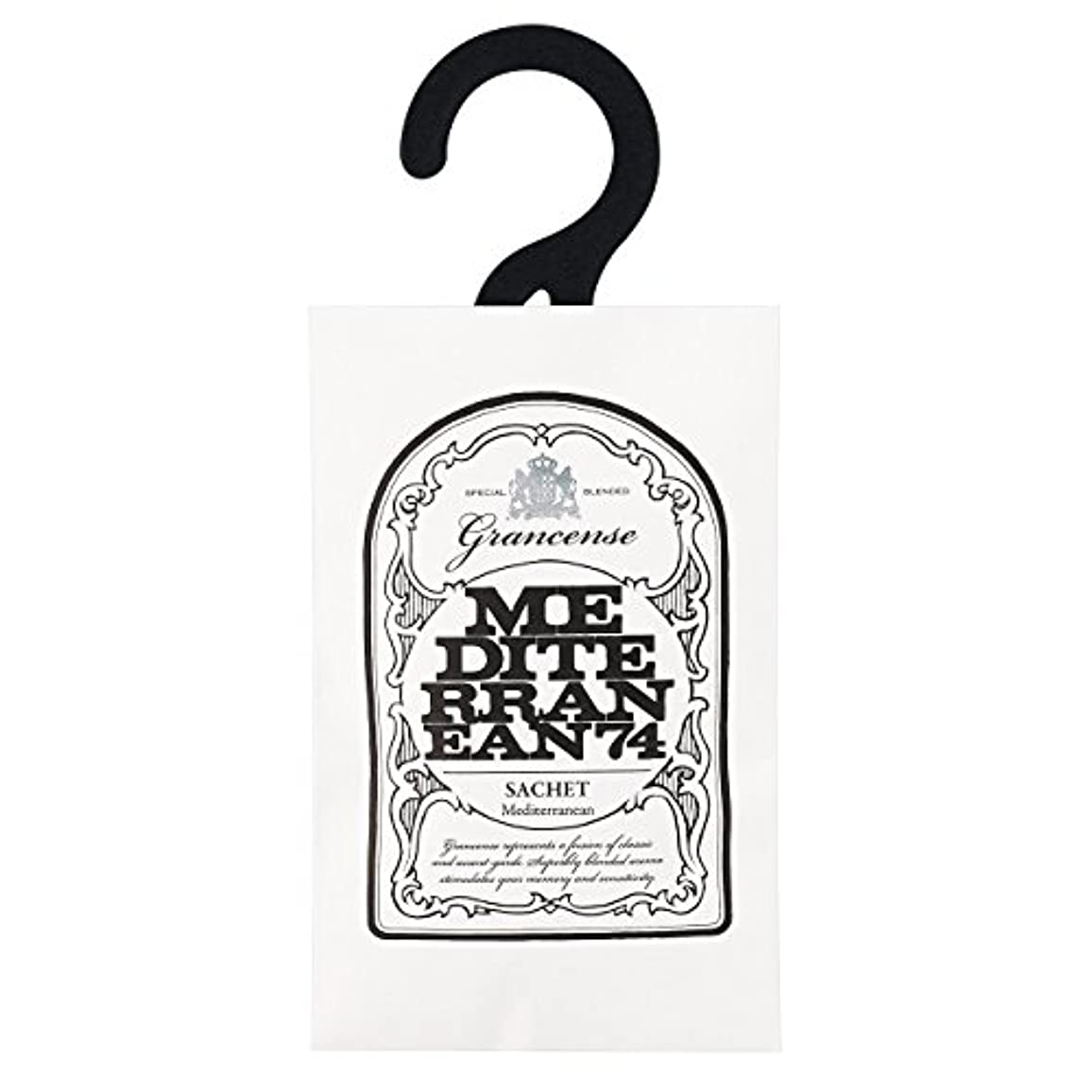 便宜批評押し下げるグランセンス サシェ(約2~4週間) メディテレーニアン 12g(芳香剤 香り袋 アロマサシェ 潮風を感じさせてくれるアクアティック?フローラルの香り)