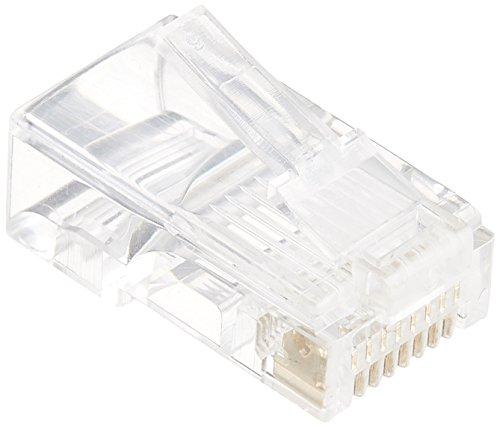 LAN用モジュラープラグ 10個_L-2887 05-2887