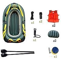 2人用の2人用小旅行用インフレータブルボートと高出力エアーポンプ - 釣り人とレクリエーションのトップライトフィッシングカヤックアイランド航海 (Size : 4 people)