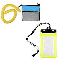 SM SunniMix フローティング プール ヌードル スリング メッシュ フロートチェア スイミングシート 柔らかい 電話ドライバッグ