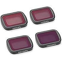 Jurben DJI OSMOポケット4本/セット防水アルミND4-PL / ND8-PL / ND16-PL / ND32-PL磁気カメラレンズフィルタークアドコプタードローンアクセサリー