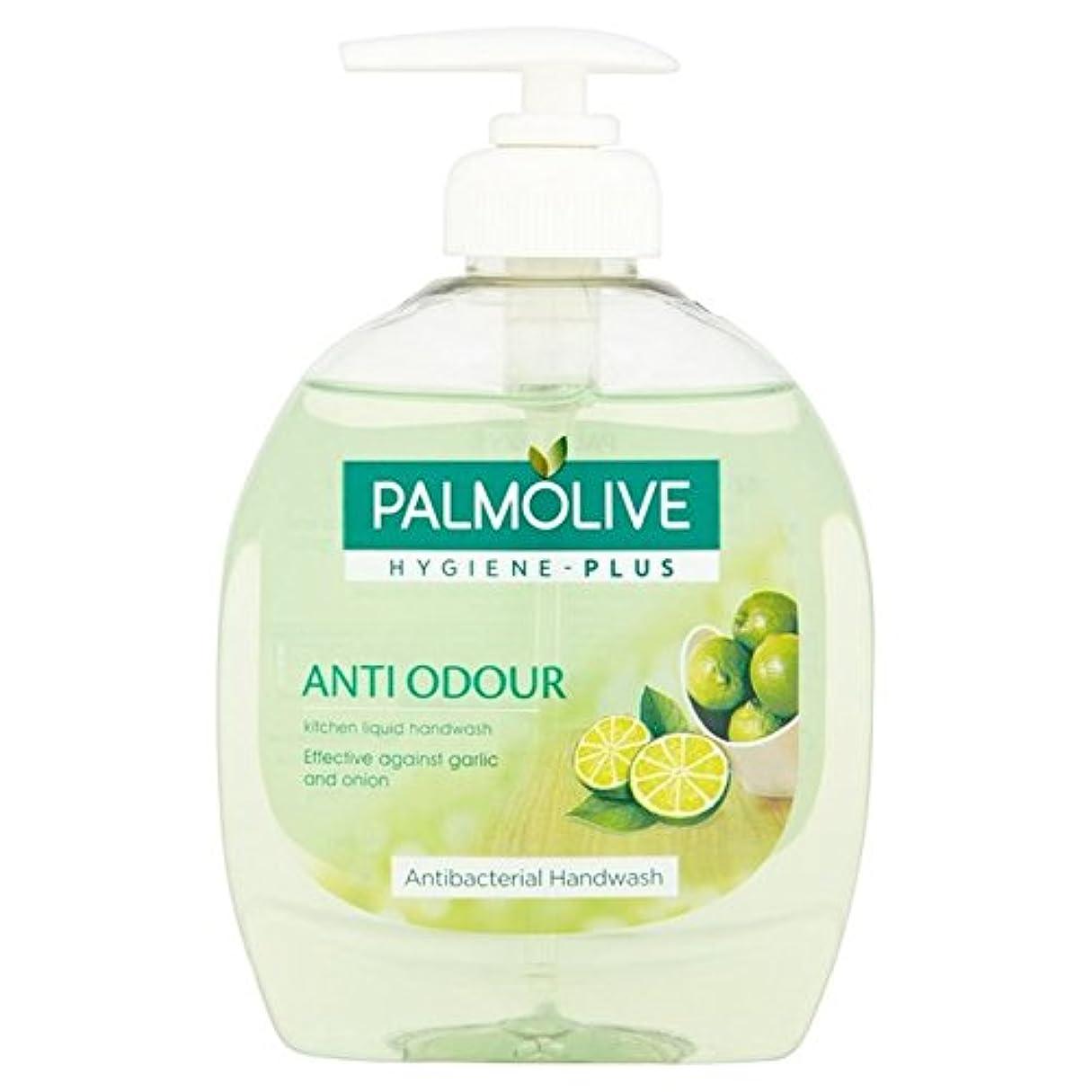 スクラブ湿ったただライム抽出物300ミリリットルとパルモ液体手洗い x4 - Palmolive Liquid Hand Wash with Lime Extract 300ml (Pack of 4) [並行輸入品]