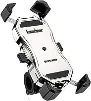 Kaedear(カエディア) バイク スマホ ホルダー バイク用 【 クイックホールド プレミアム 】 携帯ホルダー スマホ 携帯 スマートフォン アルミ製 バーマウント ミラー マウント 360度回転 原付 オートバイ