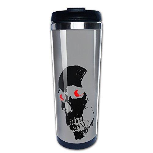 HORROR MOVIEイービルスカルデッドトラベルマグカップコーヒータンブラーかわいいカップ Andrew