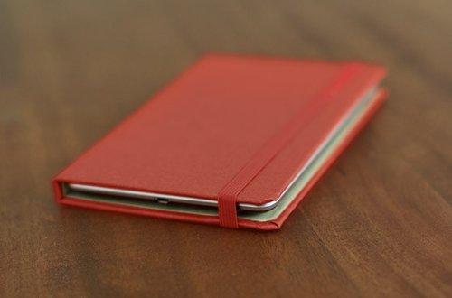 DODOcase Hardcover モレスキン風 Nexus 7 用 カバー 「ソリッド・Red レッド」 HC111021O