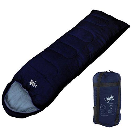 WhiteSeek 寝袋 シュラフ 封筒型 【最低使用温度7℃...