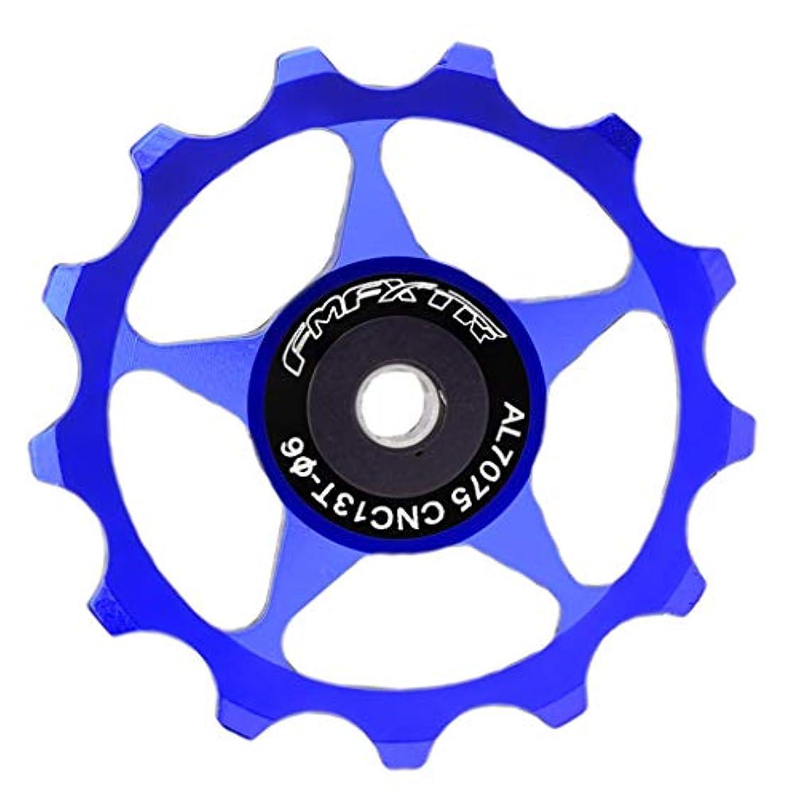 バイソン無許可さようならD DOLITY セラミック バイクジョッキーホイール 13Tガイド 固定ギア 自転車部品