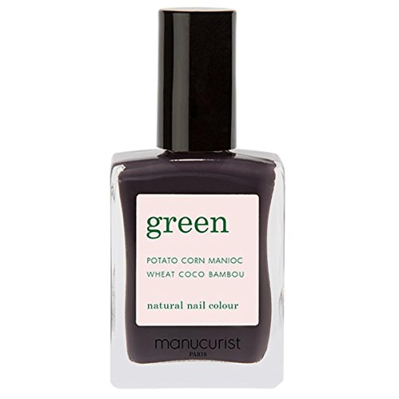 純粋に茎害虫マニキュリスト グリーン ナチュラル ネイルカラー クィーンオブナイト 15ml