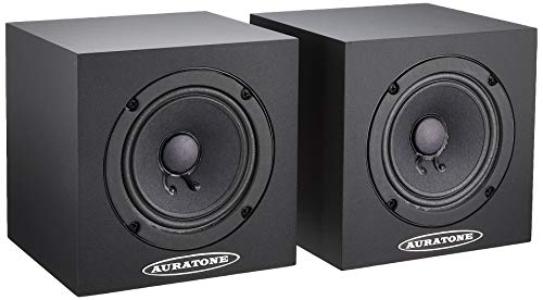 AURATONE(オーラトーン)5C Super Sound Cube (Pair=2本1組) 、Black(黒)