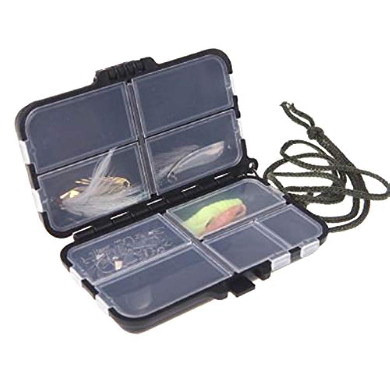 重要な役割を果たす、中心的な手段となる写真撮影苦いZAYAR タックルボックス 釣り用 ツールケース 釣り小物入れ 9コンパートメント ゴム密封 防水 耐衝撃 携帯便利