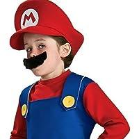 【コスプレ】 笑顔一番 マリオ 子供用 Sサイズ(110-130)
