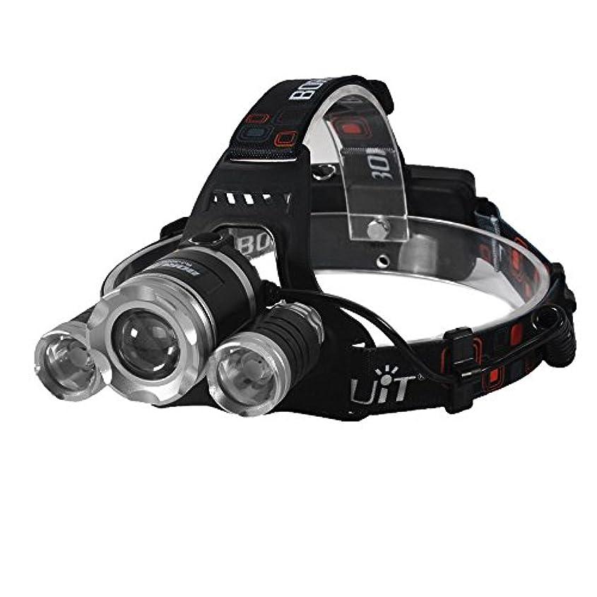 説得力のあるたまに専門化するBenRan 3x CREE XM-L XML T6 ヘッドライト 充電式 高輝度 ズーム機能付き 4モード 90度角度調整 携帯に充電可能 軽量 防水 夜釣り 仕事作業などのアウトドア活動に最適
