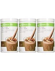 〈お得な3本セット〉ハーバライフ フォーミュラ1 プロテインドリンクミックス- チョコレート味