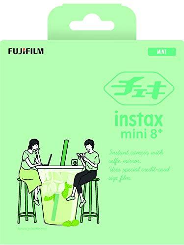 FUJIFILM インスタントカメラ チェキ INS MINI 8PLUS MINT B07KFGL23F 1枚目