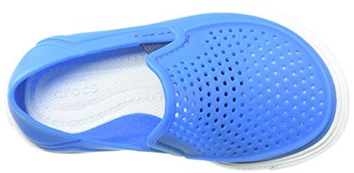 クロックス スニーカー シティレーン ロカ キッズ 204026 Ocean White C12 18.5 cm