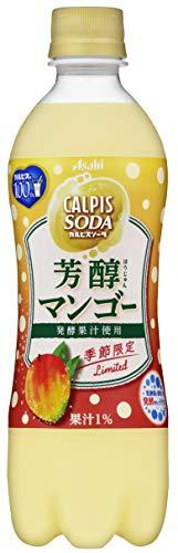 カルピスソーダ 芳醇マンゴー 500ml ×24本