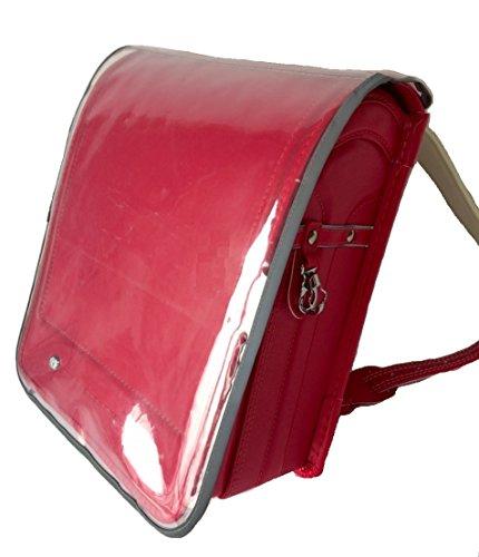 ランドセルカバー 透明 反射 着せ替えポケット付 交通安全 用品 642136
