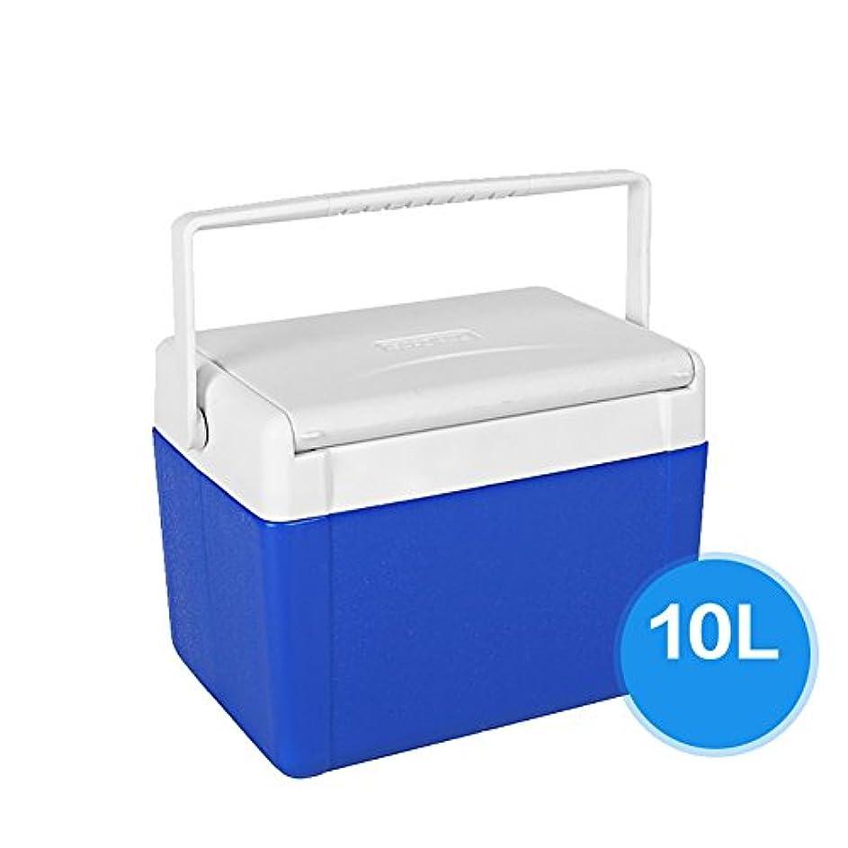 安いですアライメント記憶アウトドア用断熱箱クーラー国内車ボーンポータブルアイス袋屋外用釣りピクニック温度計付き鮮度保持アイスバケツ