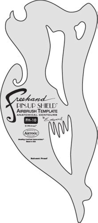 Artool Freehand Template #10 Pin-up [並行輸入品]
